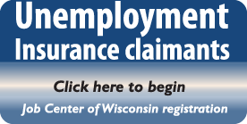 Job Center of Wisconsin launch page