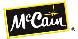 McCain Foods logo and link to their website