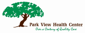 Park View Health Center logo and link to their website