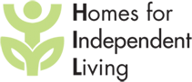 Homes for Independent Living logo and link to their website