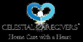 Celestial Caregivers logo and link to their website