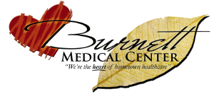 Burnett Medical Center logo and link to their website
