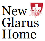 New Glarus Home logo and link to their website