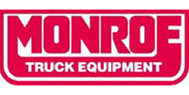Monroe Truck Equipment logo and link to their website