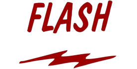FLASH logo and link to their website