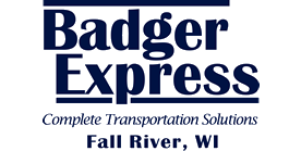 Badger Express logo and link to their website