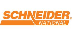Schneider National logo and link to their website
