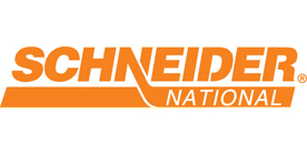 Schneider National logo and link to their website