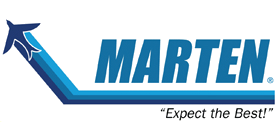 Marten Transport logo and link to their website