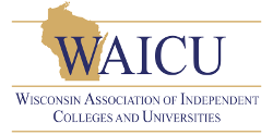 Wisconsin Association of Independent Colleges and Universities logo and link to their homepage