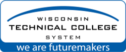 Wisconsin Technical College System logo and link to their homepage